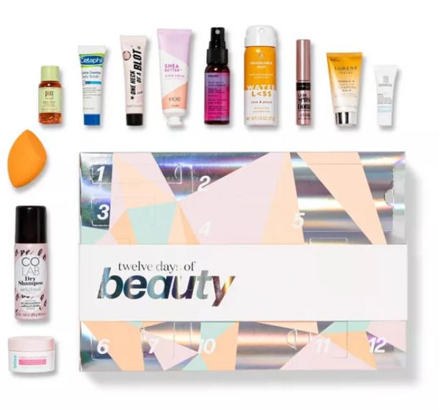 Target Best of Box - Advent Calendar 2020 target beauty advent calendar 2020 icangwp blog