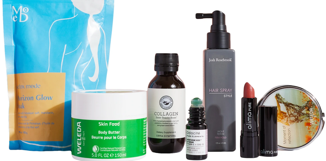 the detox market Foundation For Living Beauty Box icanwp