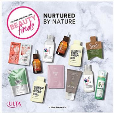 ULTA Nurtured by Nature 12 Piece Sampler Kit Ulta Beauty icangwp