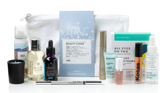 11-11 bluemercury Exclusive Holiday Beauty Lover Set icangwp