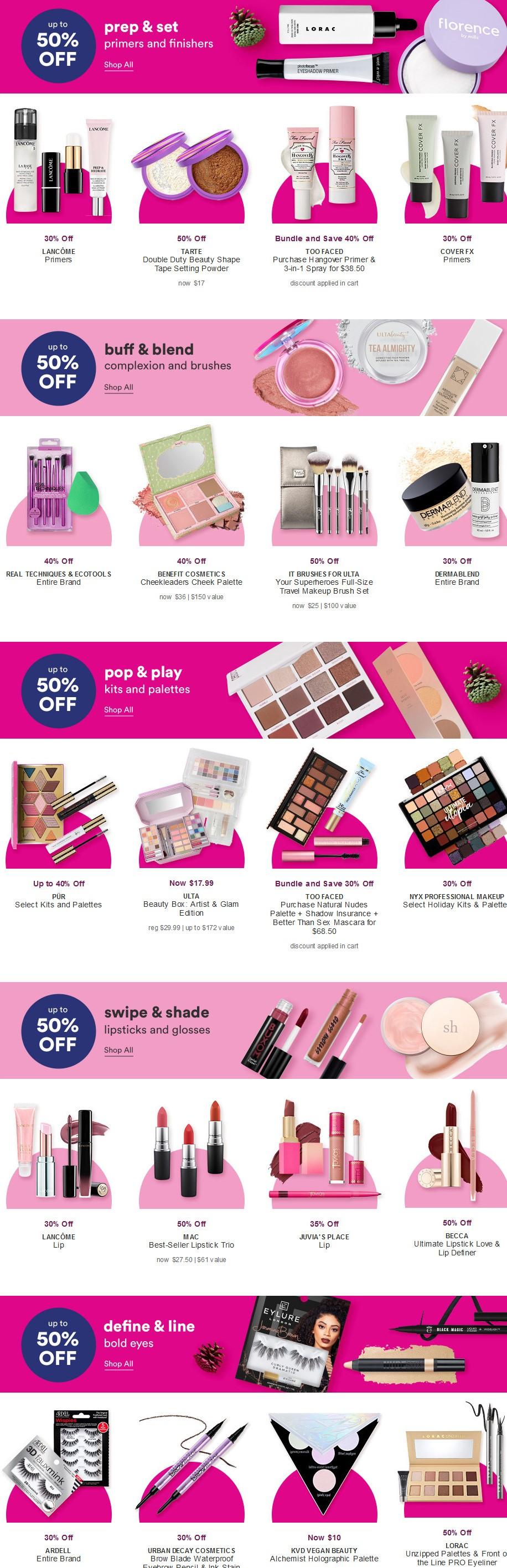 11-15 Hello Holidays Sale Ulta Beauty icangwp (2)