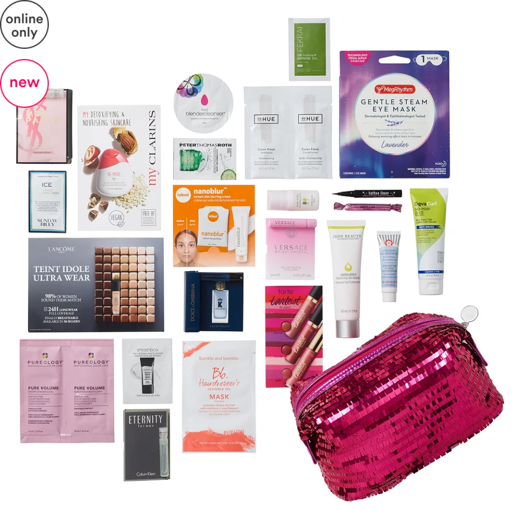11-15 Variety Hello Holidays - Free 23 Piece Beauty Bag with $70 purchase - Instant Cheer Ulta Beauty icangwp