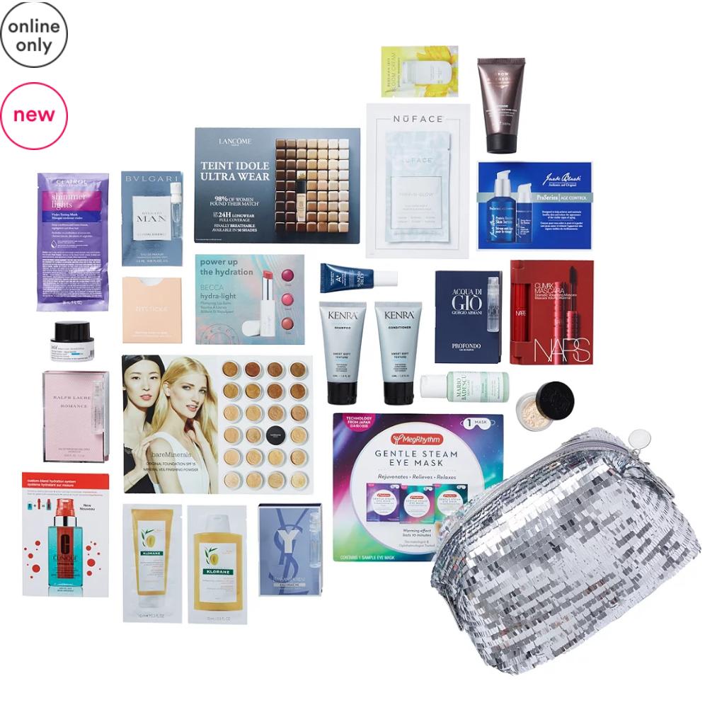 11-15 Variety Hello Holidays - Free 23 Piece Beauty Bag with $70 purchase - Major Joy Ulta Beauty icangwp