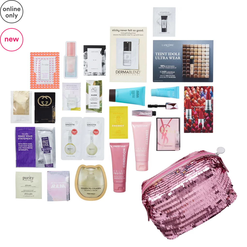 11-15 Variety Hello Holidays - Free 23 Piece Beauty Bag with $70 purchase - Merry Magic Ulta Beauty icangwp