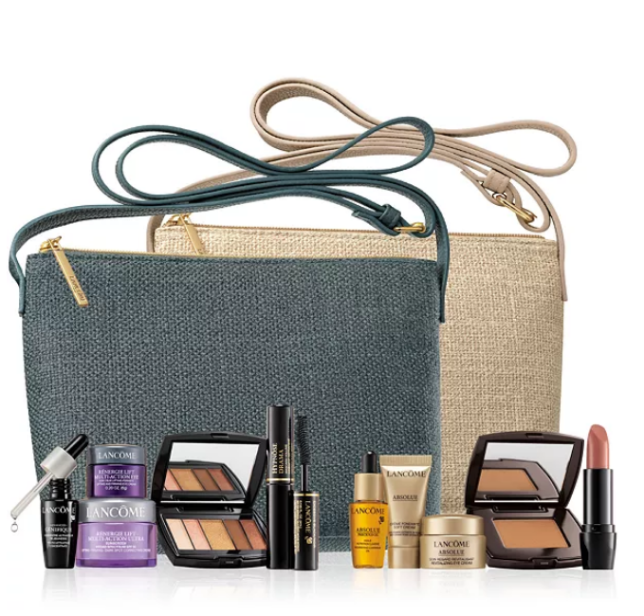 11-16 Lancôme Choose Your FREE 6-pc Gift with any $50 Lancôme Purchase Up to a $124 Value icangwp