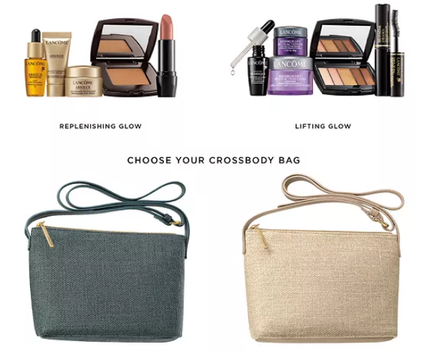11-16 Lancome Choose Your FREE 6-pc Gift with any $50 Lancôme Purchase Up to a $124 Value icangwp