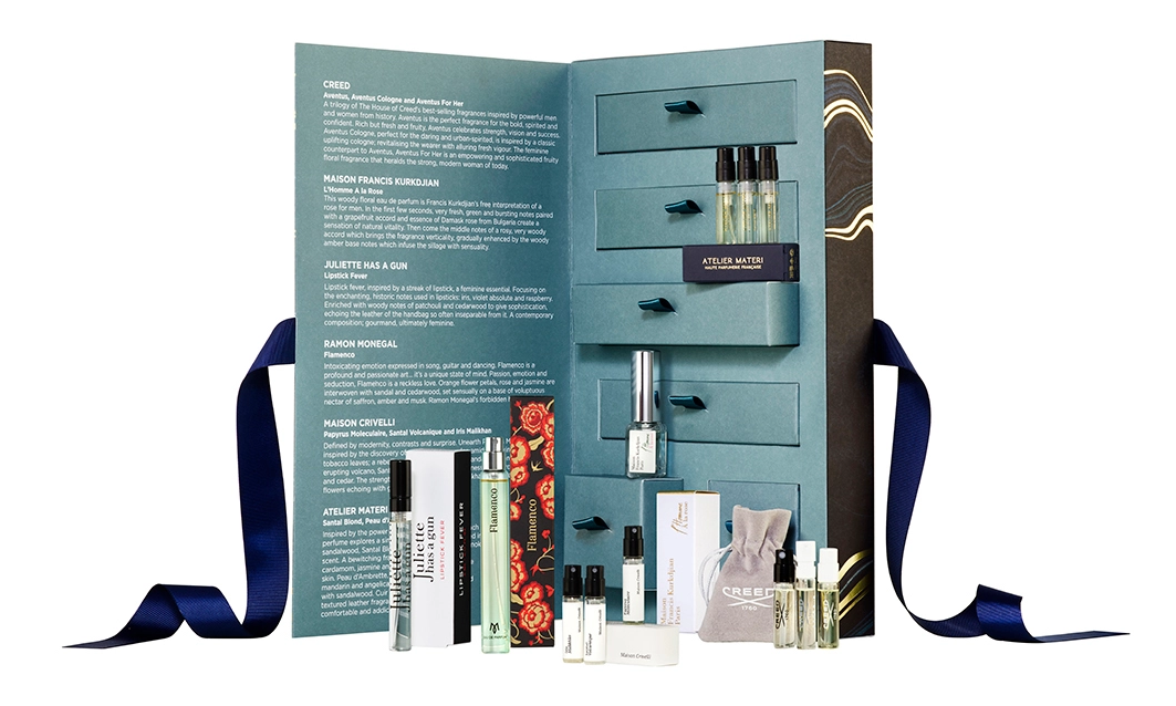 11-18 Harvey Nichols and The Perfume Society Fragrance Discovery Box icangwp