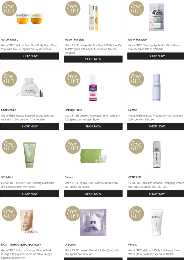 11-27 Promotions Cult Beauty icangwp