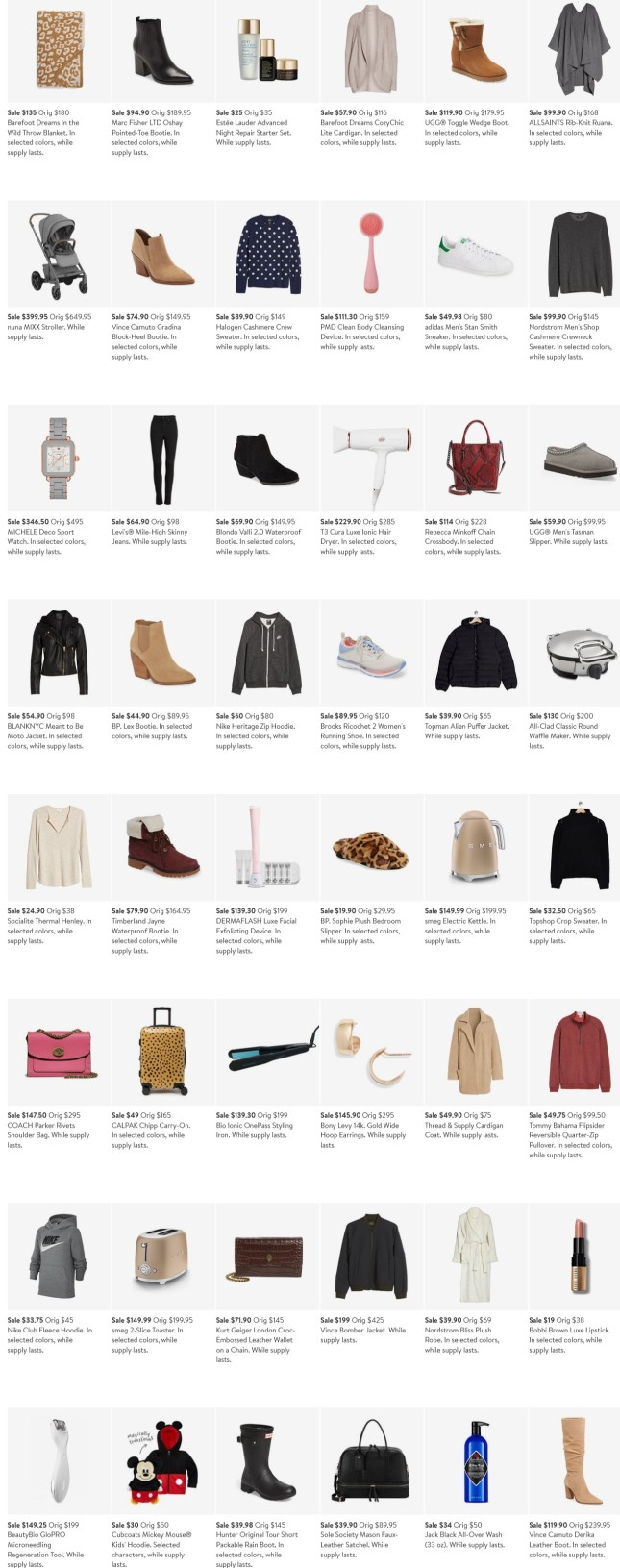 2020 Black Friday Cyber Monday Deals Nordstrom icangwp blog