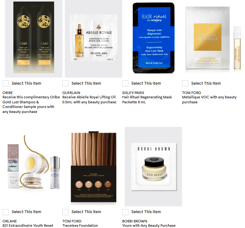 bergdorf goodman beauty samples icangwp blog