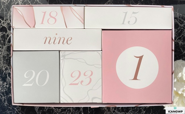 glossybox advent calendar 2020 contents icangwp