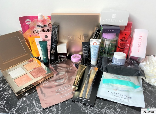 glossybox advent calendar 2020 unboxing usa icangwp