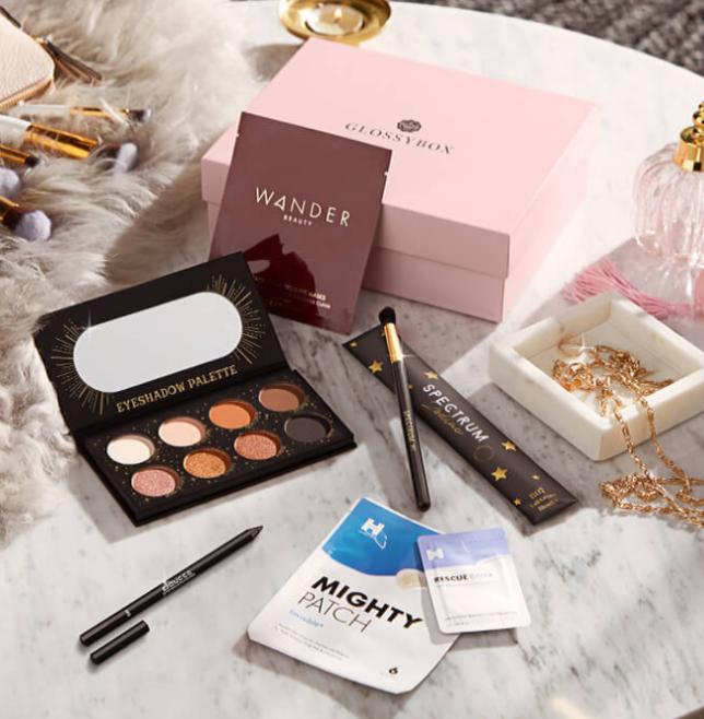 Glossybox november 2020 beauty box US icangwp