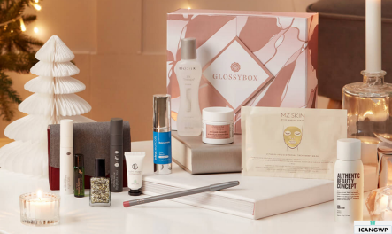 Glossybox US holiday limited edition 2020 icangwp