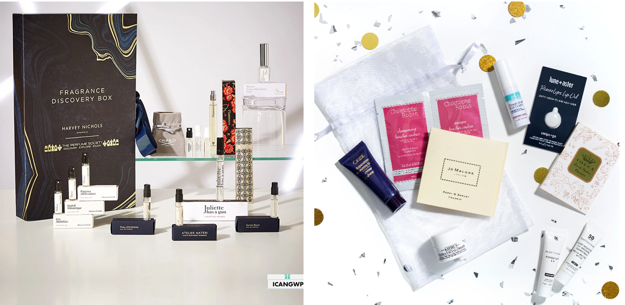 harvey nichols fragrance beauty box 2020 icangwp