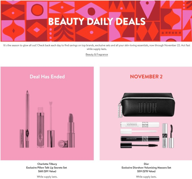 nordstrom Beauty daily Deals black friday icangwp (3)