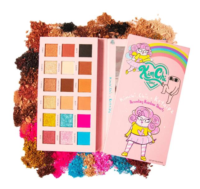 Screenshot_2020-11-01 KimChi Chic Beauty x Ketnipz Rainbow Sharts Eyeshadow Pressed Pigment Palette Nordstrom