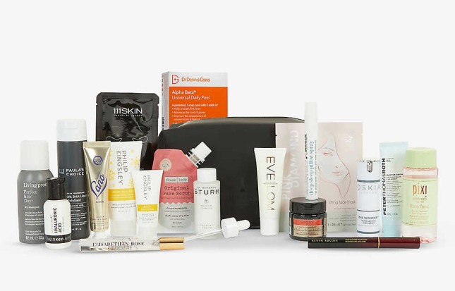 The Selfridges Beauty Collection christmas for her selfrides beauty bag 2020 icangwp blog