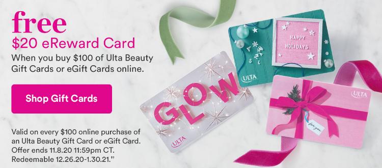 ulta free 20 egift card