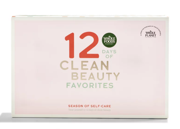 wholefoods clean beauty advent calendar 2020 icangwp