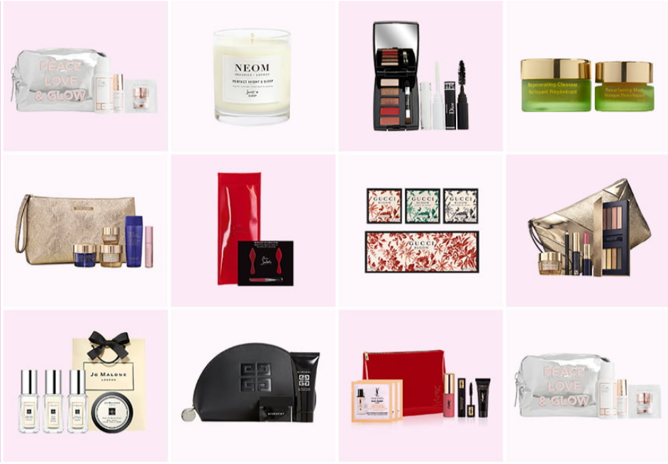 12-14 Beauty gift with purchase Nordstrom icangwp