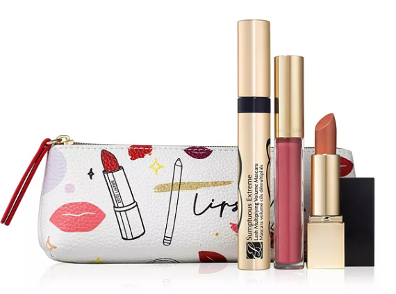 12-25 Estée Lauder Limited Edition Free Gift Includes 3 Full Sizes Yours with any $39 50 Estée Lauder icangwp