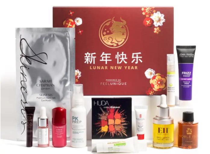 12-28 Feelunique Lunar New Year Box icangwp