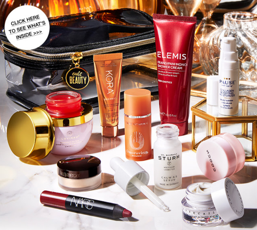 cult beauty goody bag icangwp The Luxe Beauty Gift has landed