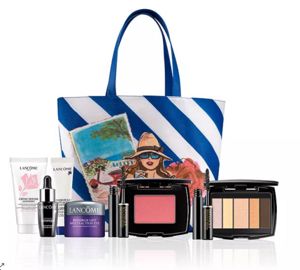 Free seven-piece gift with any $39 50 Lanc ocirc;me purchase bloomingdales icangwp
