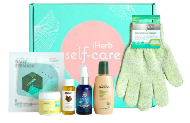 Screenshot_2020-12-10 Promotional Products, iHerb Self-Care Box, 6 Piece Set
