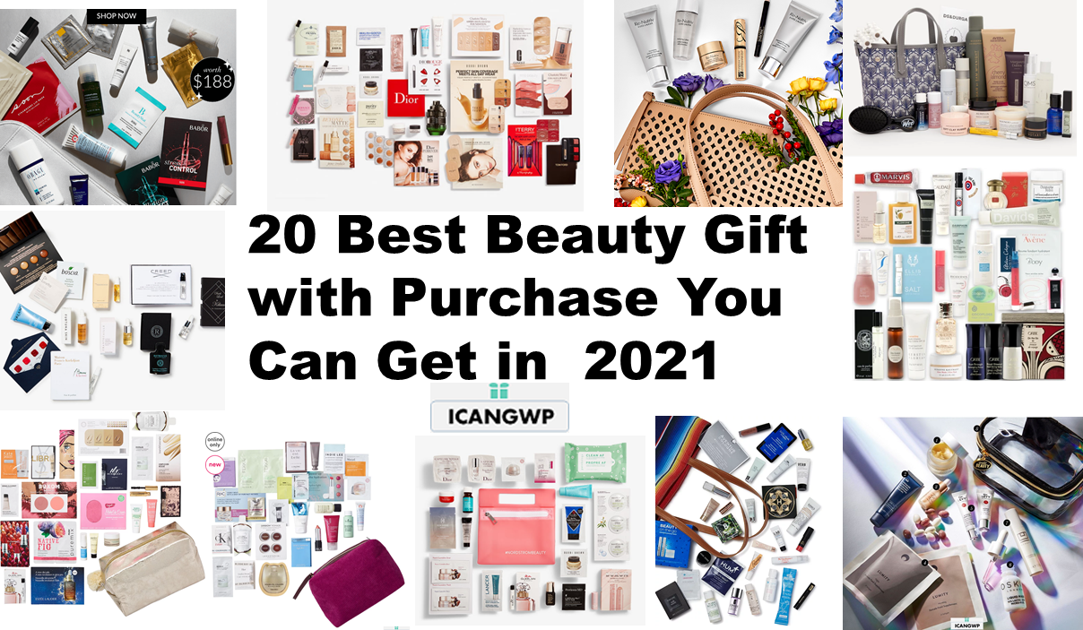 20 best beauty gift with purchase 2021