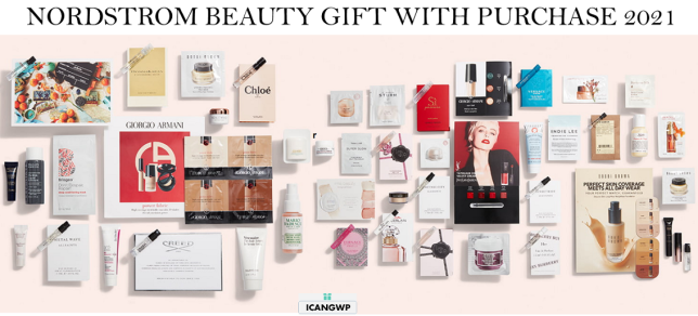 BEAUTY gift with purchase at nordstrom icangwp blog