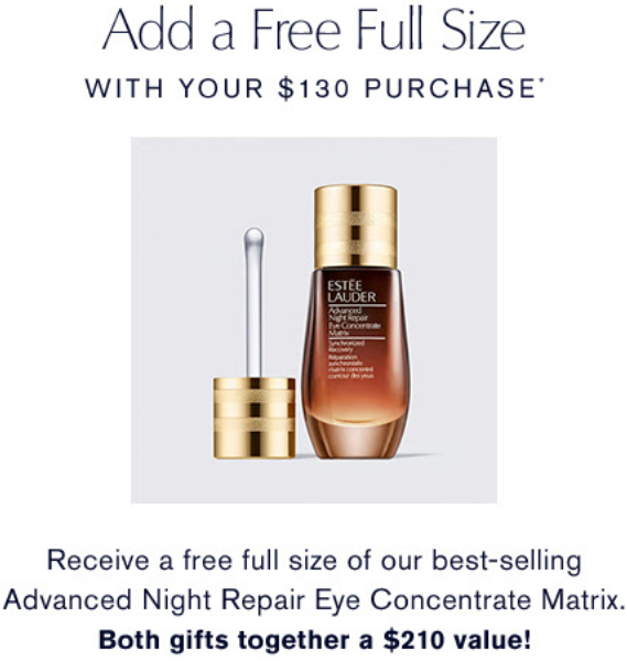 estee lauder Free 8-Piece Gift A $210 Value, with your purchase icangwp