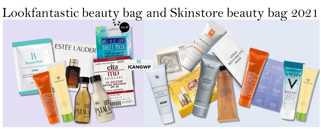 Lookfantastic beauty bag skinstore icangwp beauty blog