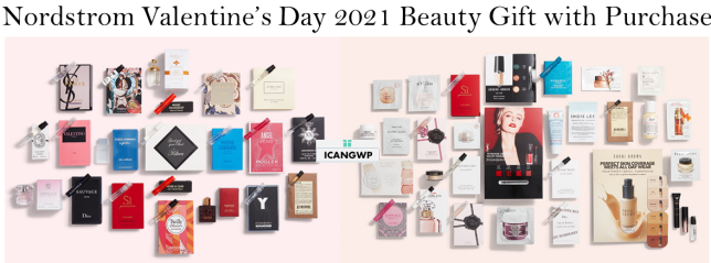 nordstrom beauty gift with purchase icangwp jan 2021 27pc 20pc valentines day icangwp