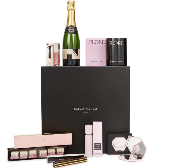 2021-02-02 harvey nichols hamper Look Of Love Valentine's Gift Set icangwp