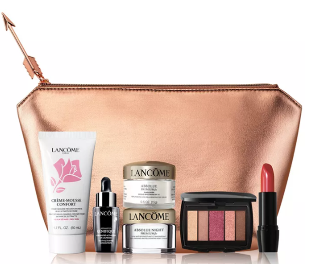 2021-02-02 Lancôme Choose Your FREE 7-pc gift with any $39 50 Lancôme Purchase Gift worth up to $174 icangwp