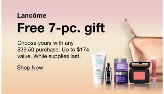 2021-02-02 lancome gift with purchase Macy's icangwp