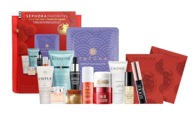 2021-02-10 sephora Lunar New Year Beauty kit 2021 icangwp