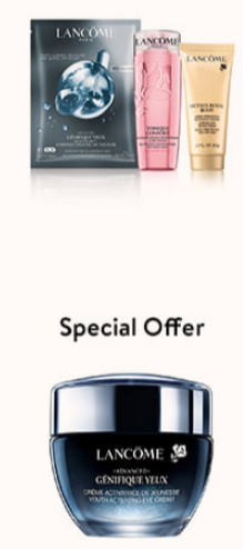 2021-03-16 lancome Gift with Purchase step up Nordstrom icangwp