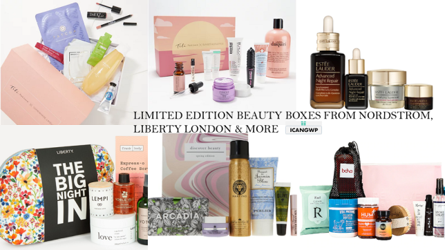 LIMITED EDITION BEAUTY BOX FEB 2021 ICANGWP