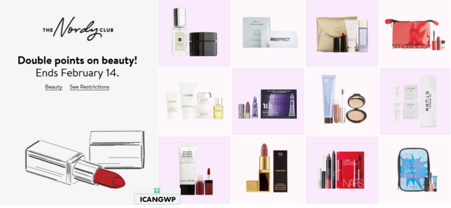 nordstrom beauty gift with purchase icangwp february 2021 valentines day icangwp