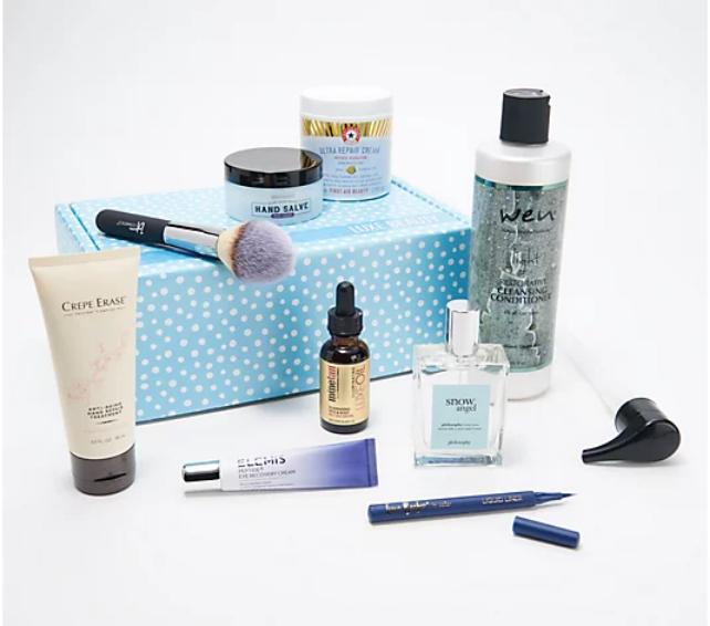Screenshot_2021-02-15 TILI Try it, Love it Luxe Full Size 9-Piece Beauty Box - QVC com