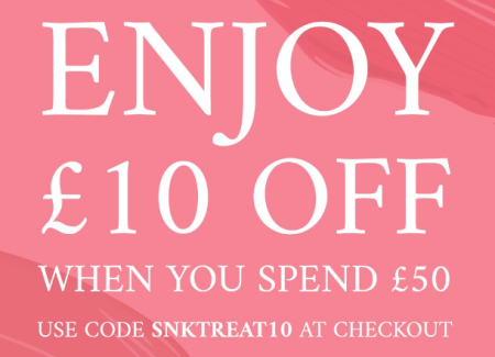 space nk We miss you take £10 off your next shop