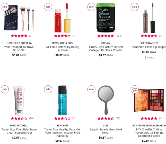 2021-03-05 Cosmetics, Fragrance, Skincare and Beauty Gifts Ulta Beauty icangwp blog