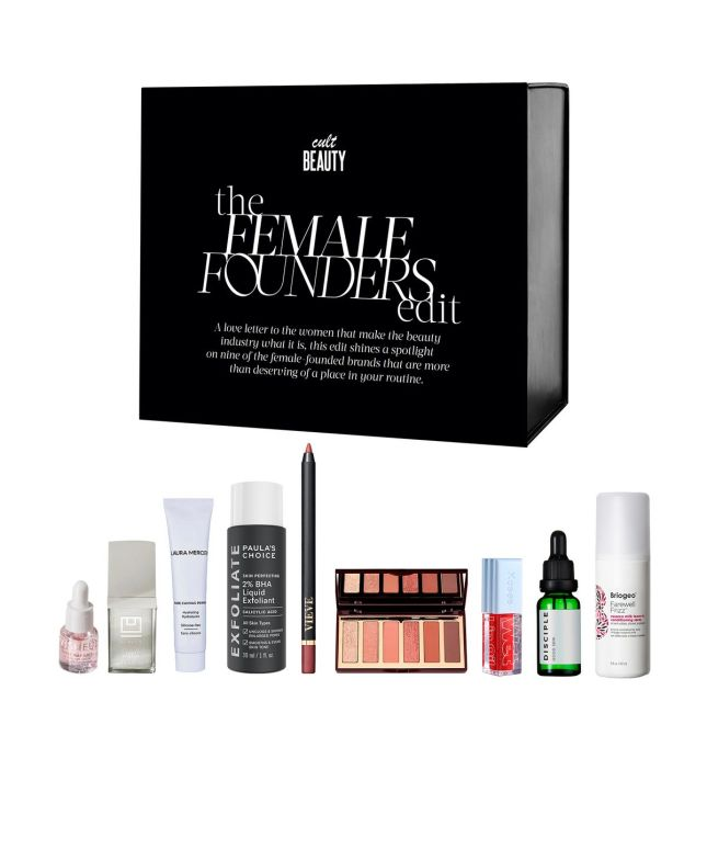 cult beauty box 2021 female founders box