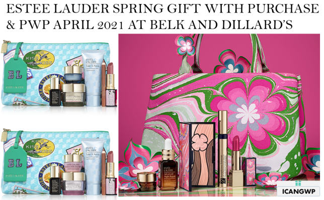 estee lauder gift with purchase SCHEDULE MARCH APRIL 2021 icangwp