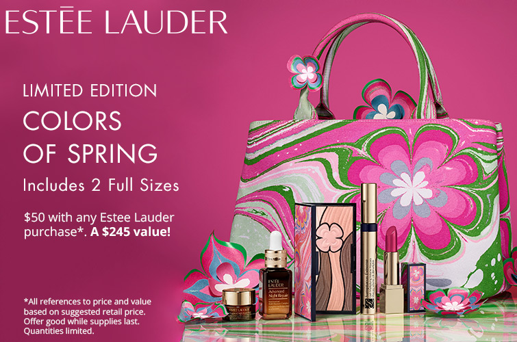 estee lauder purcahse witth purchase dillard's icangwp