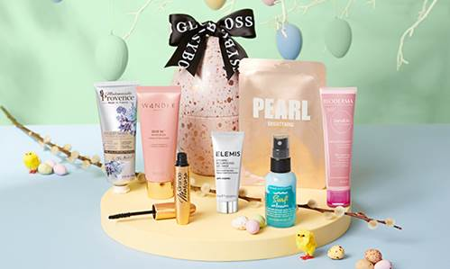 glossybox easter egg 2021 icangwp beauty blog exclusive