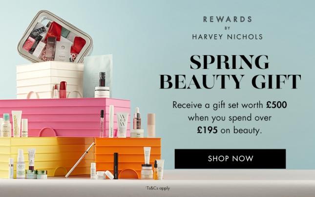 harvey nichols goody bag 2021 spring icangwp